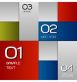 Squares Background vector image vector image