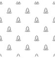 christmas new year seamless pattern with christmas vector image