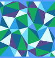 abstract background with colorful triangless vector image vector image