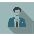 businessman web icon vector image vector image