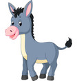 cartoon donkey vector image