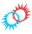 creative circle symbol vector image vector image