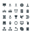 Education Cool Icons 4 vector image vector image