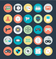 Gaming Colored Icons 2 vector image
