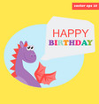 hb dragon vector image vector image