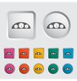 Icon dashboard vector image