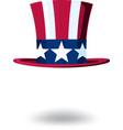 us cilinder hat vector image vector image