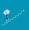 business finance saving growth finance vector image