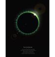 Eclipse vector image vector image