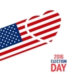 election day sign vector image