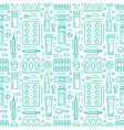 medical drugstore seamless pattern medicament vector image vector image