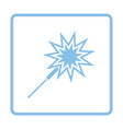 party sparkler icon vector image