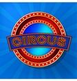 Retro Circus Banner vector image vector image