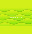 wavy abstract shape gradients vector image vector image