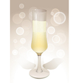 wineglass background vector image