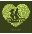 abstract green natural texture couple on vector image vector image