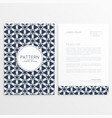 company letterhead template poster vector image vector image