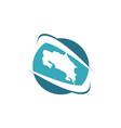 costarica traveling logo design template vector image vector image