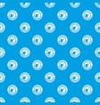gmo citrus pattern seamless blue vector image vector image