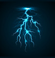 lighting bolt concept background realistic style vector image