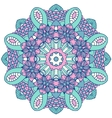 Mandala Round Ornament Pattern Vintage vector image vector image