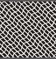 simple ink geometric pattern monochrome black and vector image vector image