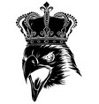 this is an eagle head mascot vector image
