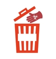waste garbage recycle icon vector image