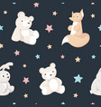 animal kid characters baby textile design