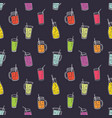 colorful seamless pattern with refreshing soft vector image vector image