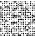 Pixel pattern Abstract geometric background vector image vector image