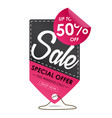 sale banners design template vector image