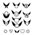 Wings design vector image