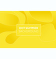 Abstract yellow creative fluid pattern