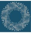 Alstroemeria round frame background vector image vector image