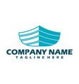 boat logo yacht logo cruise ship logo template vector image vector image
