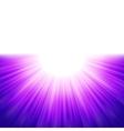 Burst of blue rays tenplate EPS 8 vector image vector image