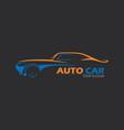 car logo emblems badges logo for service vector image