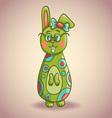 Cute cartoon bunny vector image vector image