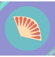 Fan icon isolated - Flat vector image