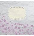 Floral Rose Background vector image