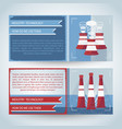 industry horizontal banners vector image