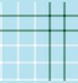 sky blue plaid tartan checkered seamless pattern vector image vector image