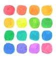 Watercolor Blobs Set vector image vector image