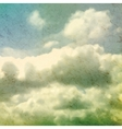 Clouds Grungy Texture vector image vector image