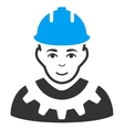Industrial Builder Icon vector image vector image