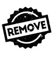 remove rubber stamp vector image vector image