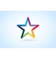 Star logo icon leader boss vector image