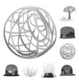countryside and pasture vector image vector image