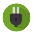 energy plug isolated icon vector image